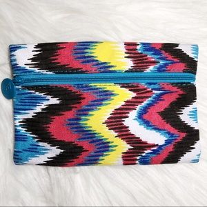 Ipsy Glam Bag 💄 Multicolored Makeup Bag